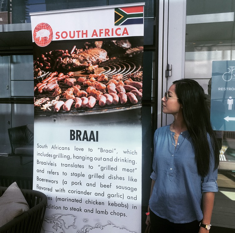 Woot! #teamsouthafrica and our Braai always on a banner at the Cochon555 events!