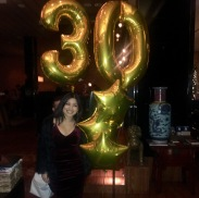 The sister's 30th dinner party at Sunda